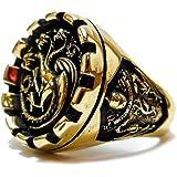 Siamhandmade2014 House Targaryen Ring - Games of Thrones House Targaryen Ring (R-42)