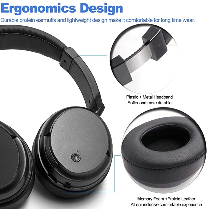 Docooler KST-G1 2.4 GHz Auriculares inalámbricos para Juegos Over-Ear Sports 3.5 mm y RCA Auriculares con Cable Stereo Bass Auriculares Música w/Transmisor ...