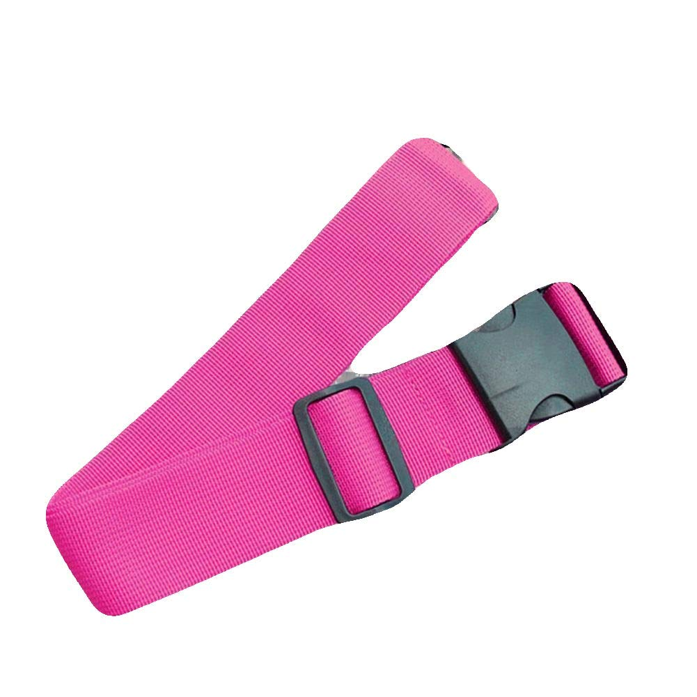 ROSE RED #FUTH Top Travel Suitcase Luggage Straps Buckle Baggage Tie Down Adjustable Belt