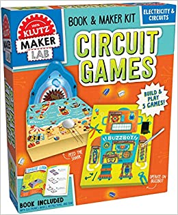 Buy Circuit Games: Build & Play 5 Games! (Klutz) Book Online at Low ...