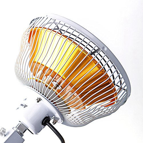 TDP Lamp CQ-29P for TDP Heat Lamp Therapy Featuring Infrared Mineral Technology For Maximun Pain Relief with Oversize Safety Head by Prodydent by Prodydent (Image #1)
