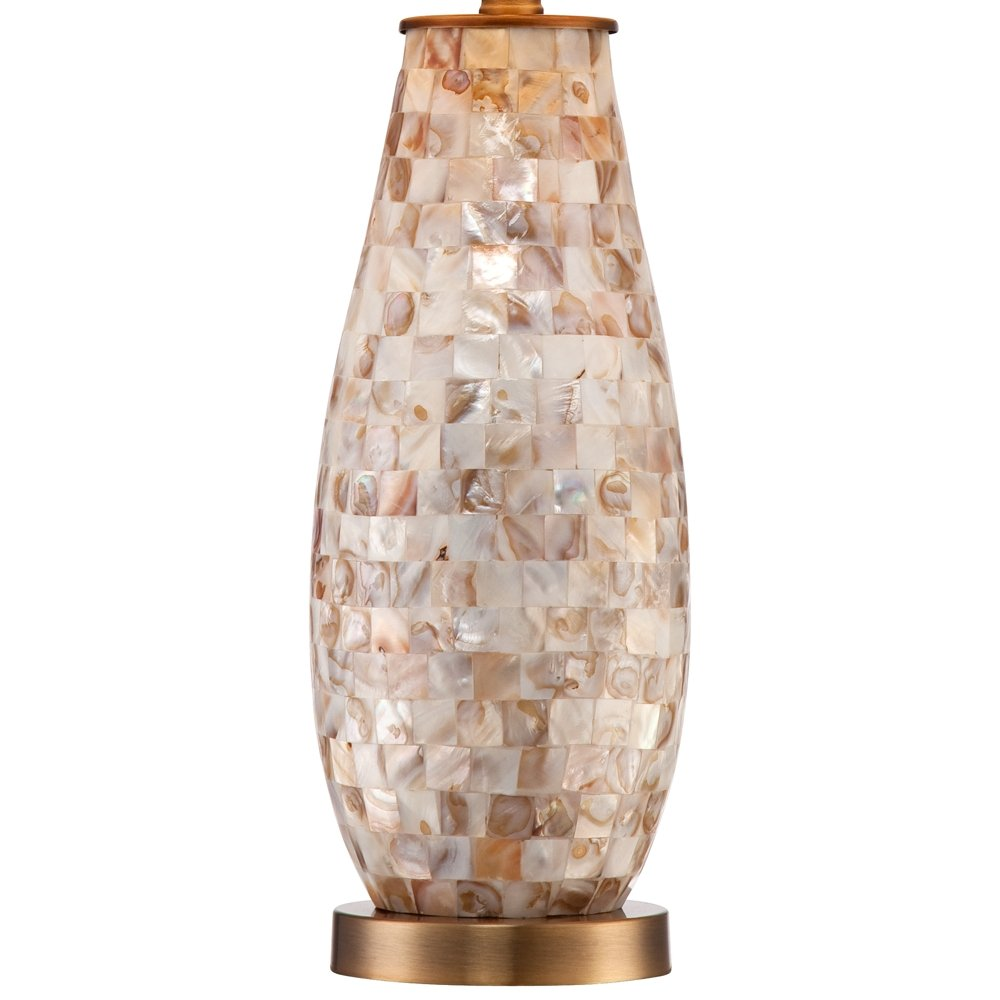 Kylie mother of pearl tile vase table lamp amazon reviewsmspy