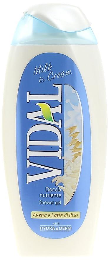 Vidal – Ducha Nutriente, Avena Y Leche De Arroz, 250 ml