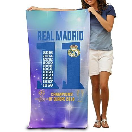 """Euro fútbol campeón de la liga real Madrid CF 31.5 * 51 """"toalla de"""