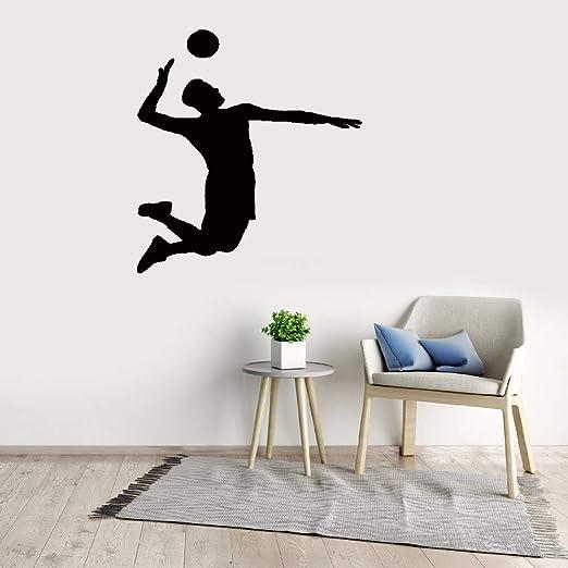 pegatinas de pared tortugas ninja Juego de voleibol Deporte ...