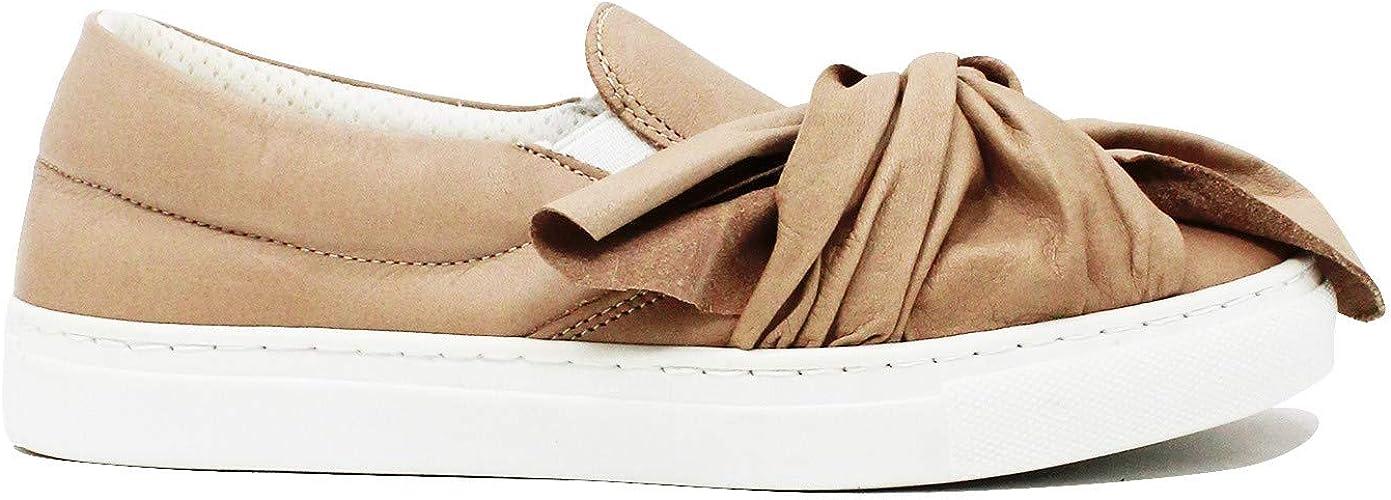 Giacko Sport Sneakers Beige con Fiocco: Amazon.it: Scarpe