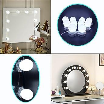 plug in vanity mirror lights. LED Vanity Mirror Light  Hollywood Style Makeup Dressing Set With 10 Lights