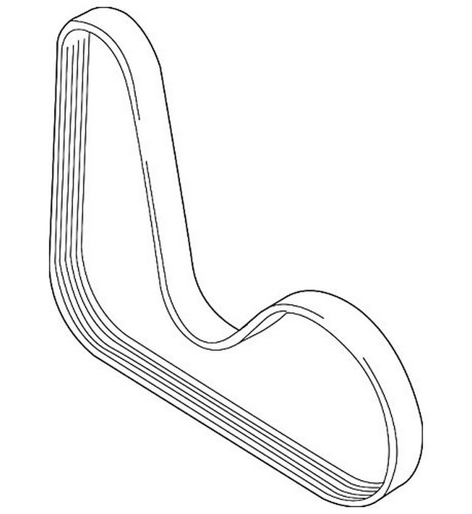Volkswagen 06J 260 849 D, Serpentine Belt