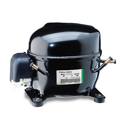 Aumentador Compresor embraco Aspera nek6213gk r404 a 1/2 HP 12 CC nevera eléctrica