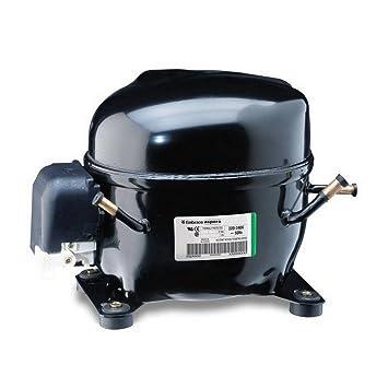 Aumentador Compresor embraco Aspera nek6181gk r404 a 1/3HP 7,3 CC ...