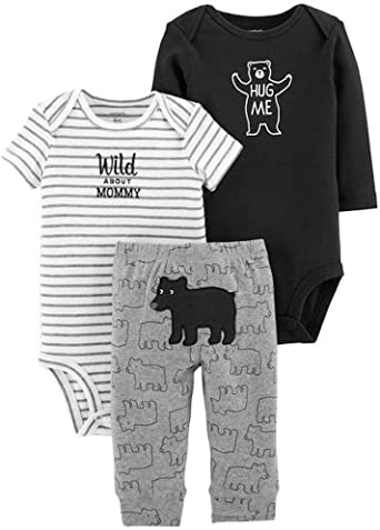 Carters Baby Boys 3-Piece Little Character Set