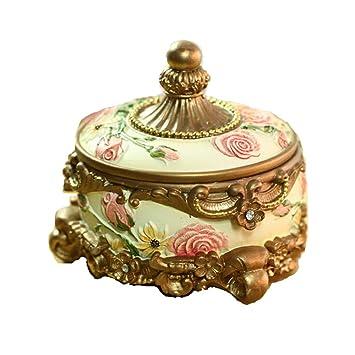 CCDZ Caja De Almacenamiento De Joyería Pequeña Cajas De Joyería De Viaje Pequeñas Joyas Artesanales En