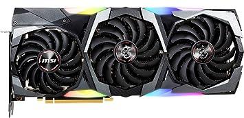 MSI GeForce RTX 2080 Ti GAMING X TRIO - Tarjeta gráfica Enthusiast (PCI-E 3.0, RGB Mystic Light, 11 GB GDDR6, 352-bit, 7000 Mhz Memory Clock Speed, ...