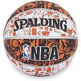 Spalding NBA Graffiti Basketball - Size 7