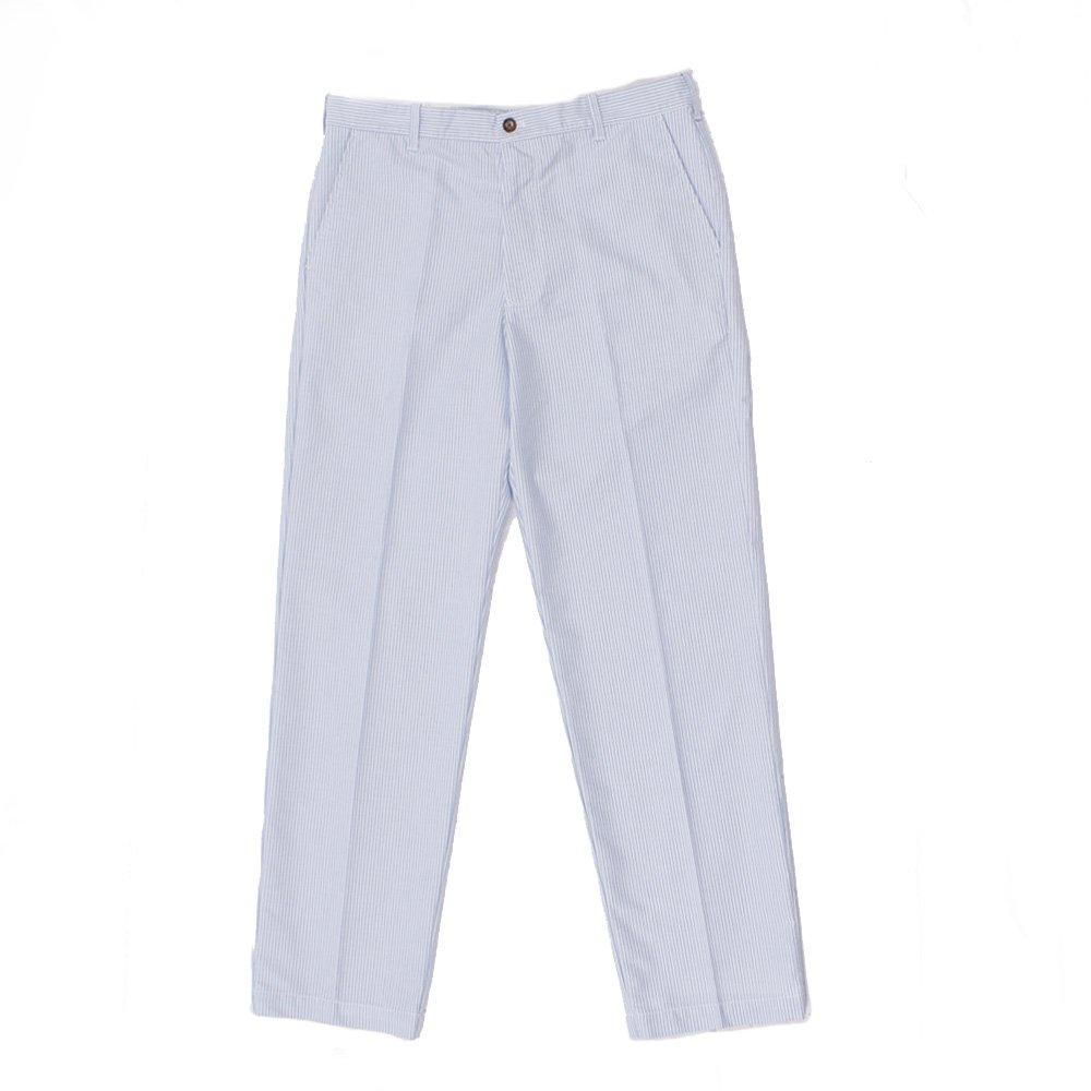 Izod Newport Oxfords blue and White stripe mens pants Size 36w 32L