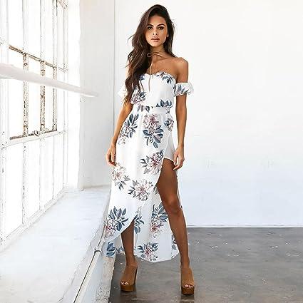 a2bfb558cf Amazon.com: Women Dress, Wensltd Summer Ladies Off Shoulder Beach ...
