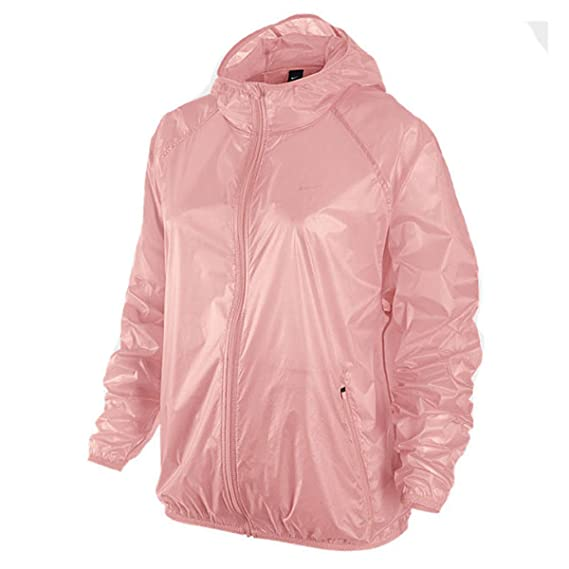 69ef8de8e1d18 Nike Transparent Hooded Women's Training Jacket: Amazon.co.uk: Clothing