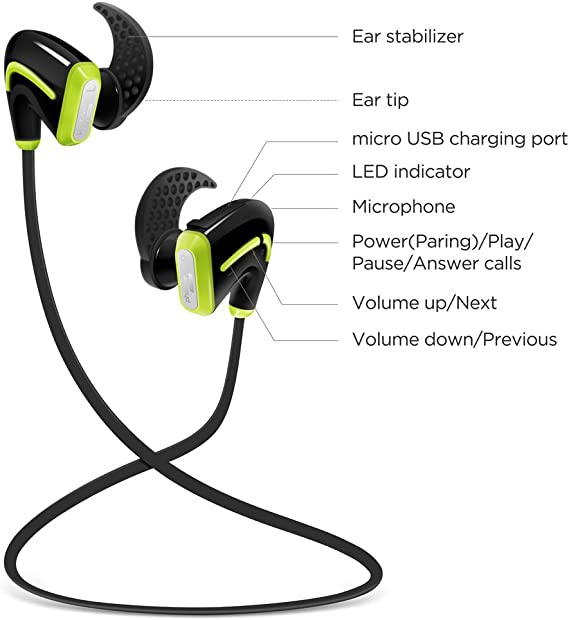 Amazon.com: Photive PH-BTE50 auriculares inalámbricos ...