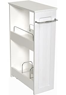 Amazoncom Slim Bathroom Storage Cabinet by OakRidgeTM Automotive