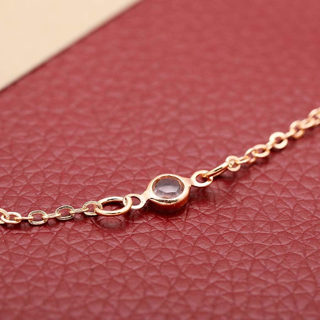 EverReena Dazzling Full Elegant CZ Stone Round Heart Silver Beads Bracelets
