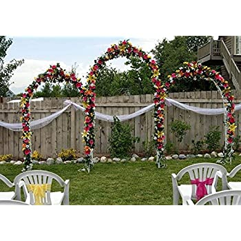 Amazon Tytroy White Metal Outdoor Indoor Arch Wedding Party