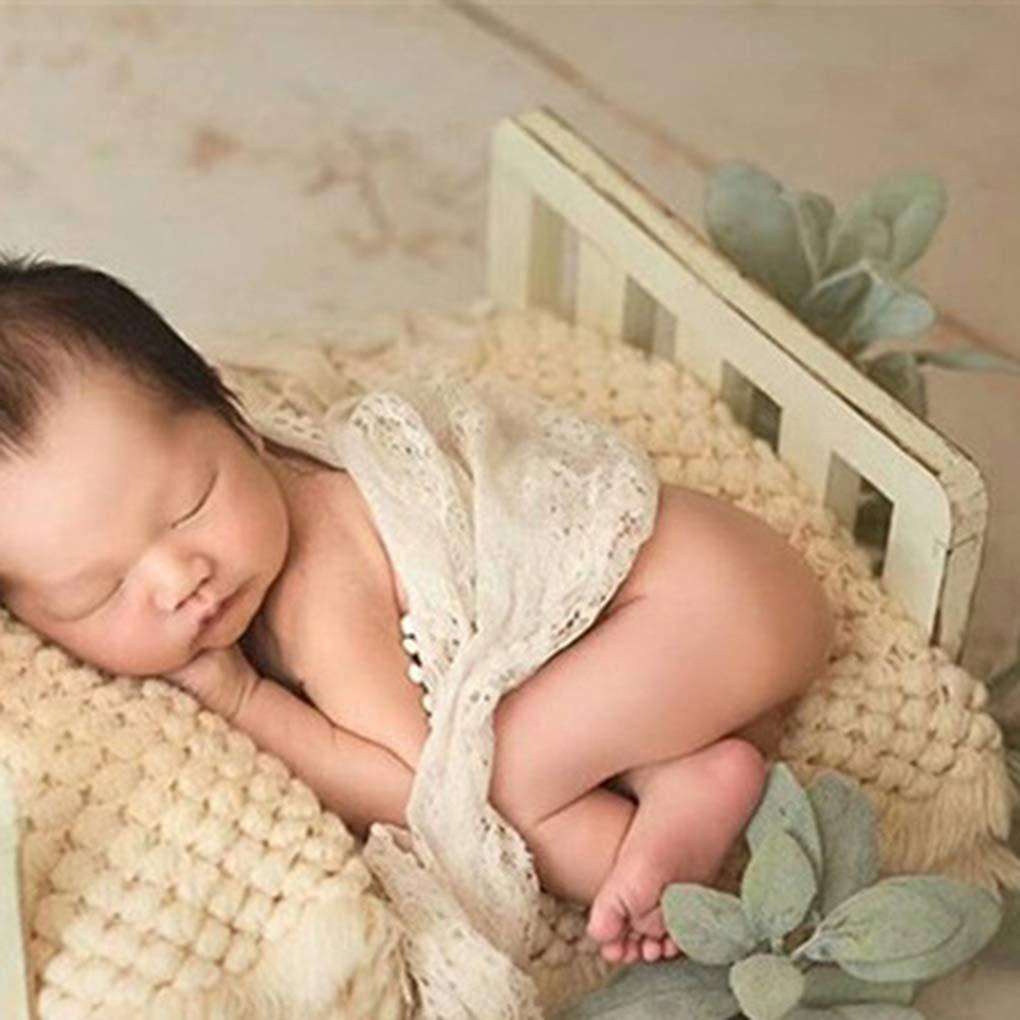 Kongnijiwa Neugeborene Fotografie Prop Babydecke gestrickt gestrickt Baby Baby Fotosession Decke Pineapple Muster Kinder Wrap Umstands Mat