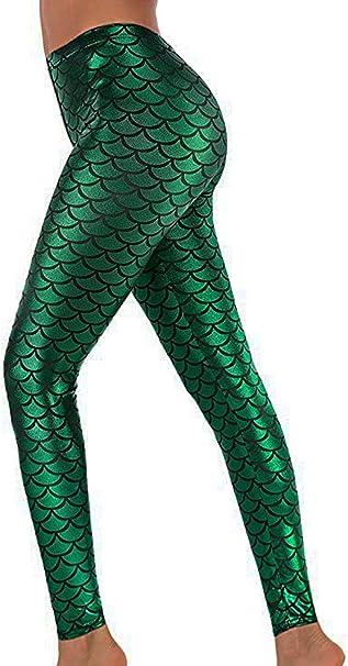 Leggings Fish Leggings Fish Costume Halloween Costume Women/'s Leggings Fish Legging FlyDesignStore