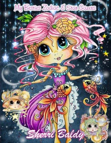 Sherri Baldy My Besties Zodiac And Star Gazers Coloring Book Amazon