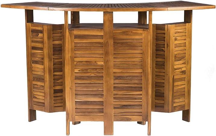 Table de Bar Extensible en Bois pour L\'extérieur - Meuble de ...