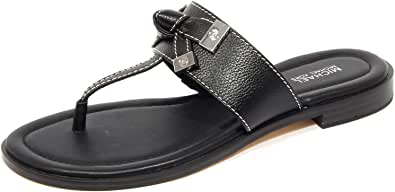 Zapatos de Mujer Sandalia Chancla Ripley Negra Michael Kors SS2020