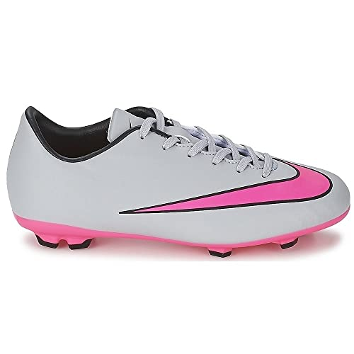 6538127291 Nike Boy's Jr Mercurial Victory V Fg Wolf Grey, Hyper Pink, Black Football  Shoes - 4.5 UK/India (37.5 EU)(5Y US): Buy Online at Low Prices in India ...