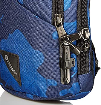 Pacsafe Vibe 150 Anti Theft Sling Pack (Blue Camo)