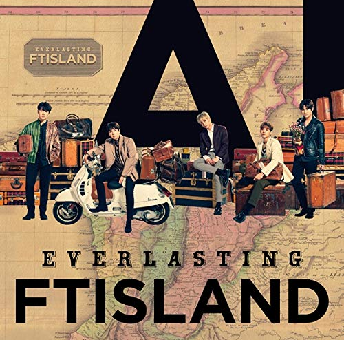 FTISLAND FT아일랜드 EVERLASTING CD+DVD, Limited Edition