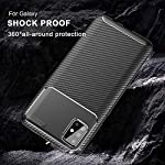 ZELFO Texture Rugged Silicon Back Cover Case for iQOO 7 (5G) – {Black}