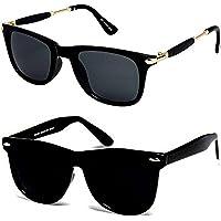 Sunglasses for Mens/Womens/Boys/Girls (BlackStick-BlackWayf-Combo-August18)
