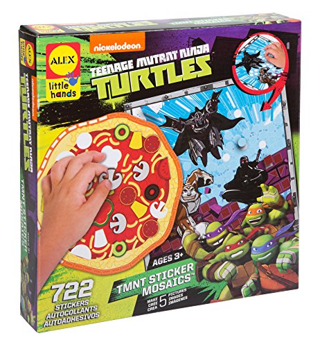 ALEX Toys Teenage Mutant Ninja Turtles Sticker Mosaics Kit -