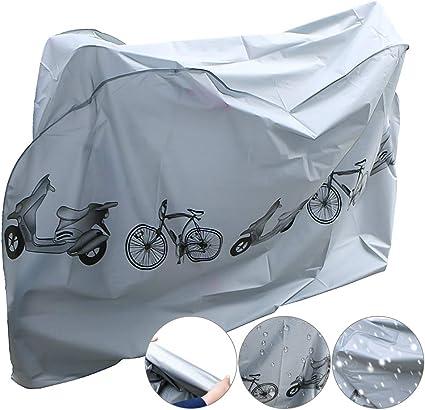 Funda Bicicleta,Funda para Bicicleta Impermeable NAKEEY Funda de Protección Bicicleta Funda Bici para Bicicleta de Montaña y Bicicleta de Carretera: Amazon.es: Deportes y aire libre