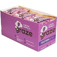 Graze Cocoa Vanilla & Oats Vegan Protein Bites 30 grams (Pack of 15)