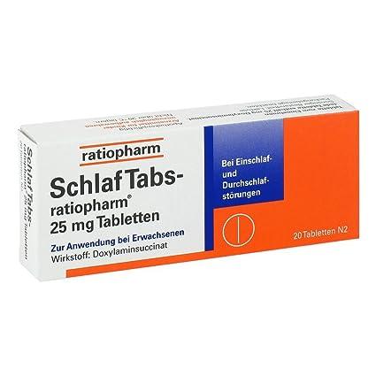 Ratiopharm - comprimidos para dormir, 20 unidades