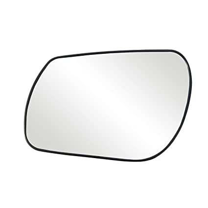 For Mazda 3 04-09 Passenger Side Mirror Glass w Backing Plate Non-Heated
