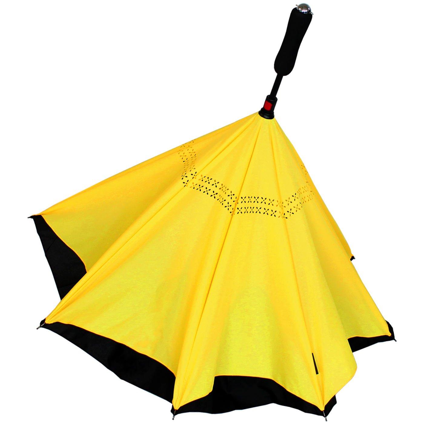 iX-brella Reverse-Neon, Parapluie cannes  noir noir 106 cm
