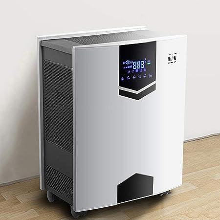 YUMUO Purificador De Aire De Bajo Ruido,Air Purifier Comercial Generador De Iones Negativos,con UV-c,Filtros Hepa & Carbon,Función De Temporización: Amazon.es: Hogar