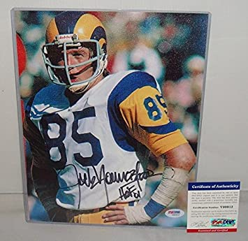 66688069a Jack Youngblood Signed 8.5x11 Canvas