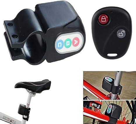 9OVE, Bloqueo de Alarma para Bicicleta, antirrobo, Alerta de ...