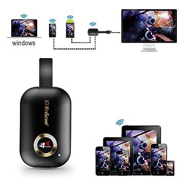 XCSOURCE G9 Plus WiFi Display Dongle HD 4K HDMI TV Receiver