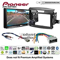 Volunteer Audio Pioneer AVIC-8201NEX Double Din Radio Install Kit with GPS Navigation Apple CarPlay Fits 2012-2016 Honda CR-V