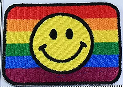 Rainbow Iron on Patch Embroidered Sewing for T-shirt, Hat, Jean ,Jacket, Backpacks, Clothing