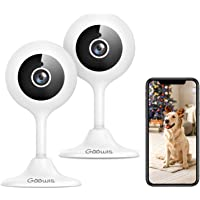 Security Camera Indoor, Goowls 1080p HD 2.4GHz WiFi Wired IP Camera for Home Security Baby/Pet/Nanny Monitor Motion…
