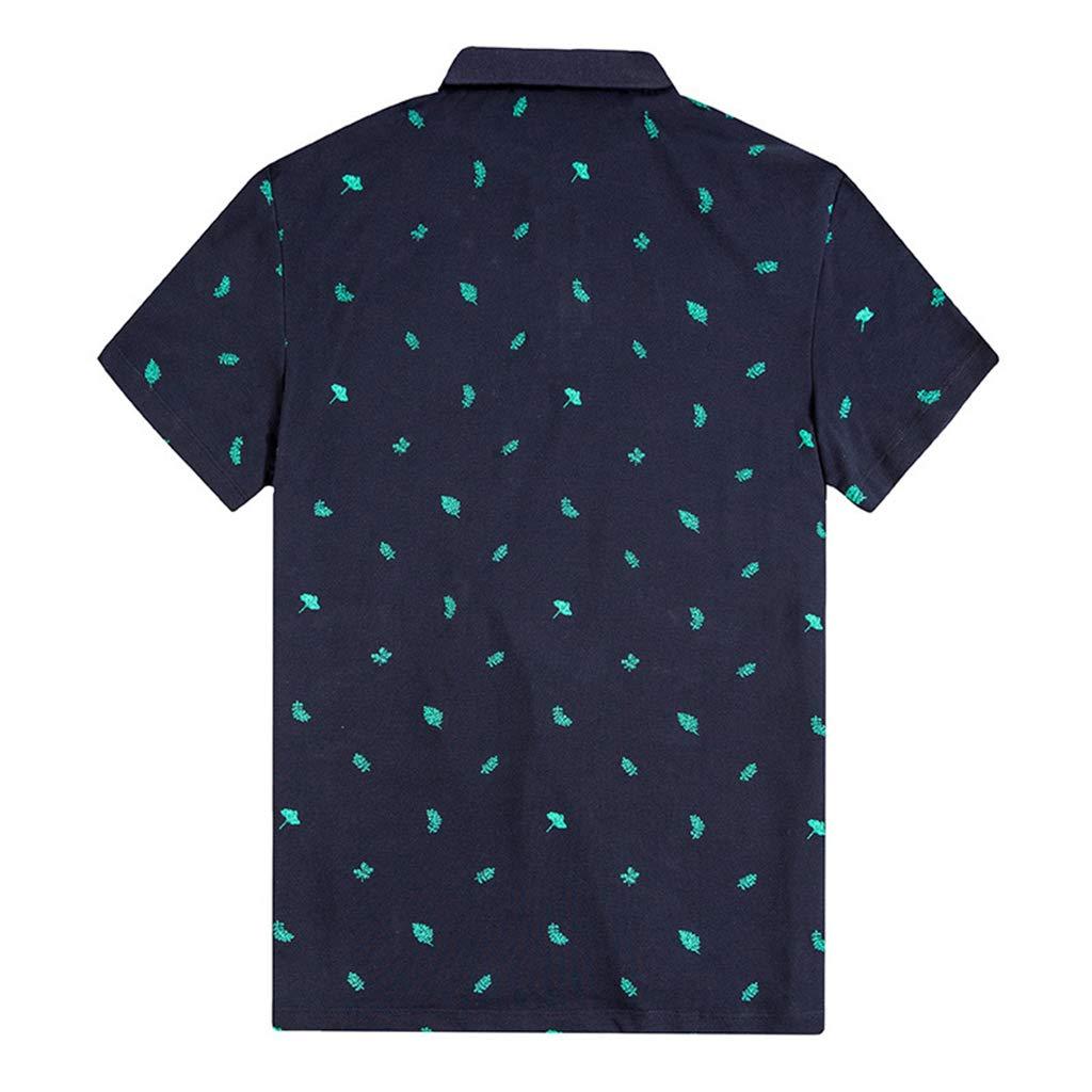 NDHSH Camisetas para Hombre Camisetas Polo Tallas Grandes Manga ...