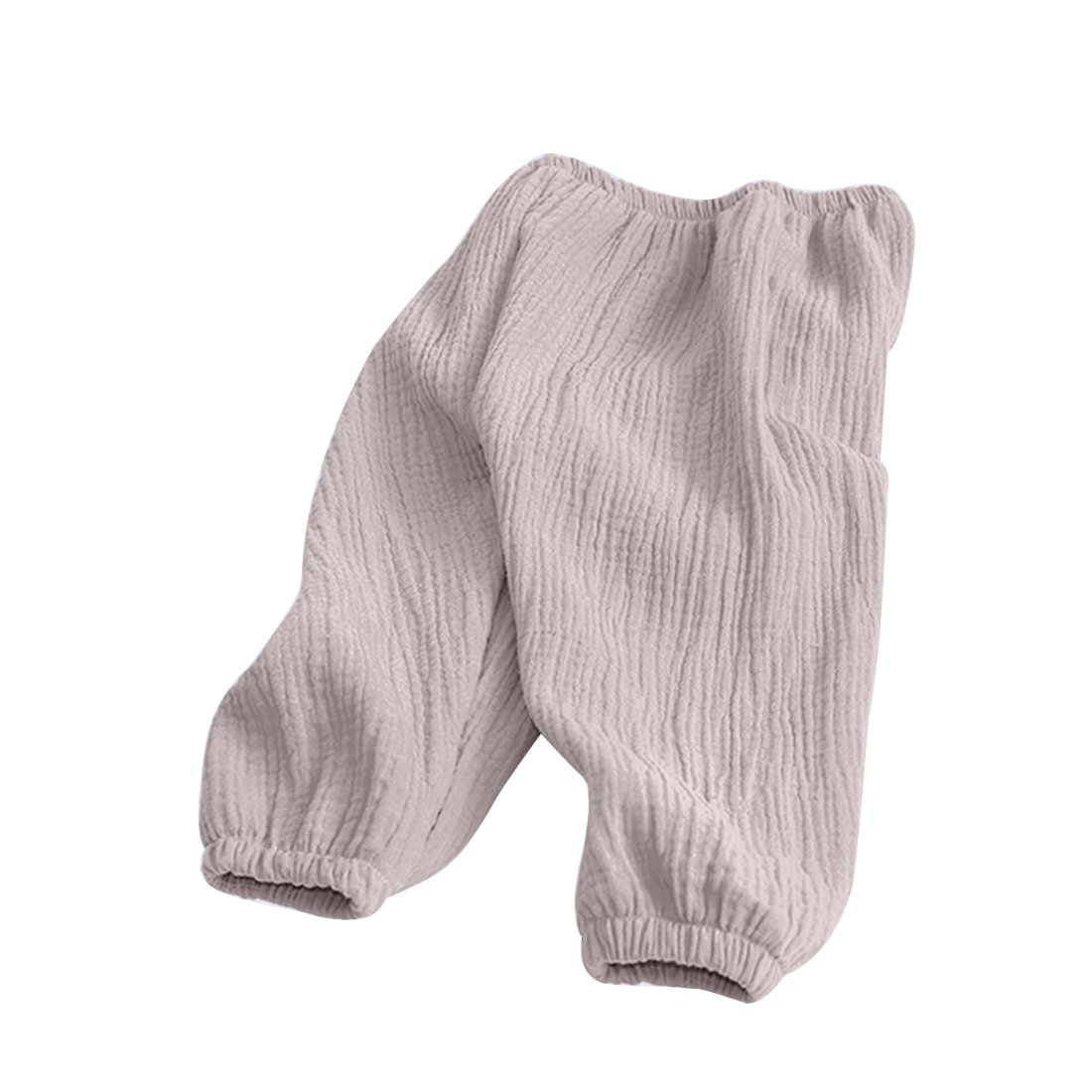 PAUBOLI Baby Long Bloomers Soft Cotton Harem Pants for Boys Girls 12M-6T